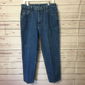 Vintage Lee Riders Jeans 80s Womens 32x27 Straight